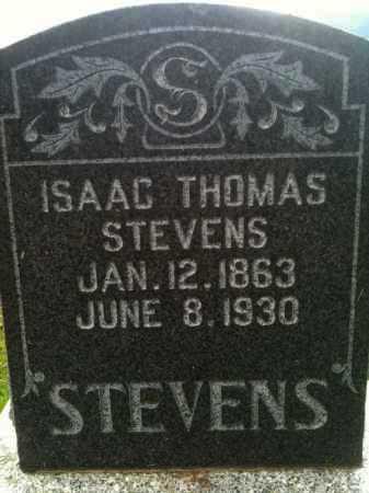 STEVENS, ISAAC THOMAS - Summit County, Utah | ISAAC THOMAS STEVENS - Utah Gravestone Photos