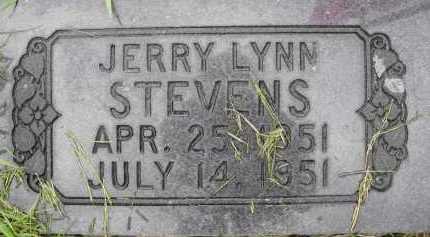 STEVENS, JERRY LYNN - Summit County, Utah   JERRY LYNN STEVENS - Utah Gravestone Photos