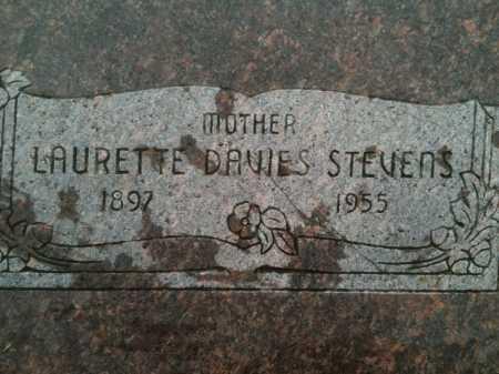STEVENS, LAURETTE - Summit County, Utah | LAURETTE STEVENS - Utah Gravestone Photos