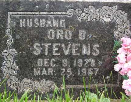 STEVENS, ORO - Summit County, Utah | ORO STEVENS - Utah Gravestone Photos