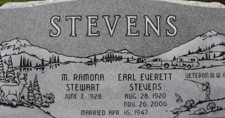 STEVENS, RAMONA - Summit County, Utah | RAMONA STEVENS - Utah Gravestone Photos