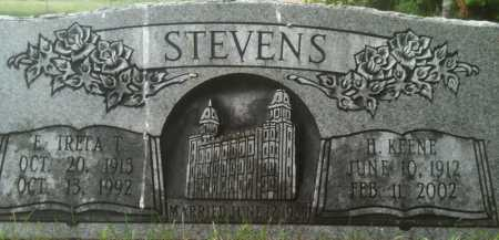 STEVENS, TRETA - Summit County, Utah | TRETA STEVENS - Utah Gravestone Photos