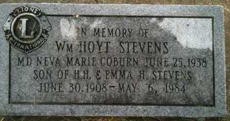 HOYT STEVENS, WILLIAM HOYT - Summit County, Utah | WILLIAM HOYT HOYT STEVENS - Utah Gravestone Photos