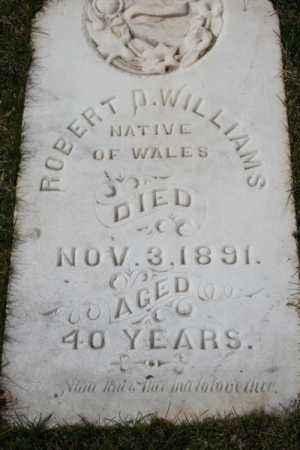 WILLIAMS, ROBERT D - Summit County, Utah | ROBERT D WILLIAMS - Utah Gravestone Photos