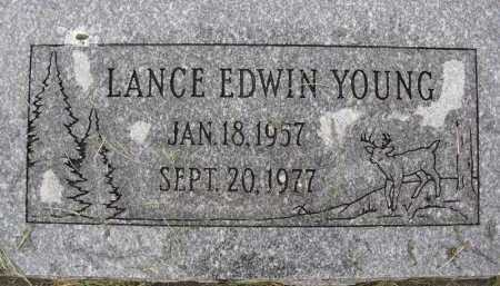 YOUNG, LANCE EDWIN - Summit County, Utah | LANCE EDWIN YOUNG - Utah Gravestone Photos