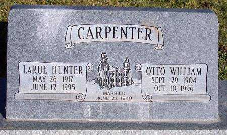 HUNTER CARPENTER, LARUE - Summit County, Utah | LARUE HUNTER CARPENTER - Utah Gravestone Photos