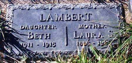 LAMBERT, LAURA - Summit County, Utah | LAURA LAMBERT - Utah Gravestone Photos