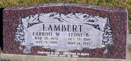 LAMBERT, BERTHA LEONE - Summit County, Utah | BERTHA LEONE LAMBERT - Utah Gravestone Photos