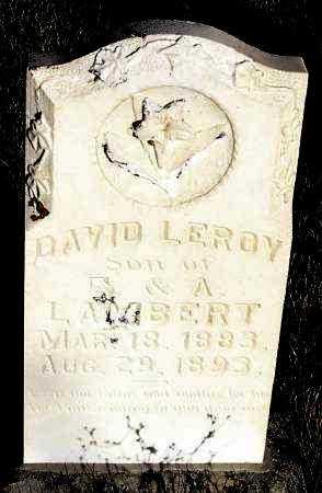 LAMBERT, DAVID LEROY - Summit County, Utah | DAVID LEROY LAMBERT - Utah Gravestone Photos