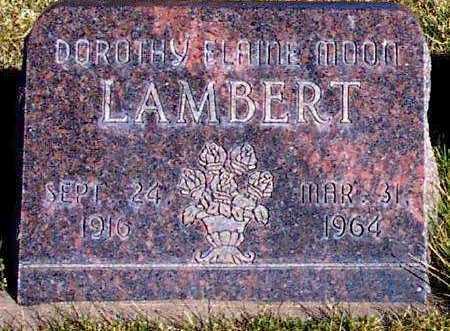 LAMBERT, DOROTHY ELAINE - Summit County, Utah | DOROTHY ELAINE LAMBERT - Utah Gravestone Photos