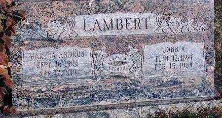 LAMBERT, JOHN ARVIL - Summit County, Utah | JOHN ARVIL LAMBERT - Utah Gravestone Photos