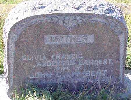 LAMBERT, OLIVIA FRANCES - Summit County, Utah | OLIVIA FRANCES LAMBERT - Utah Gravestone Photos