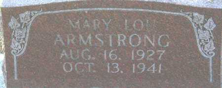 ARMSTRONG, MARY LOU - Utah County, Utah | MARY LOU ARMSTRONG - Utah Gravestone Photos