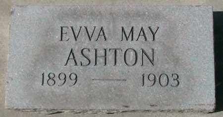 ASHTON, EVVA MAY - Utah County, Utah | EVVA MAY ASHTON - Utah Gravestone Photos