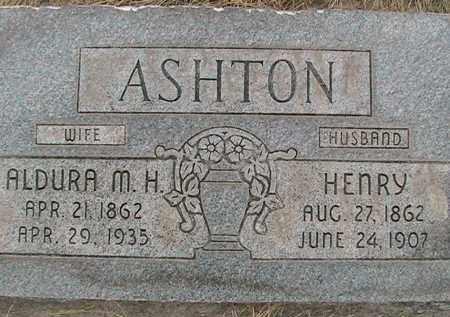 ASHTON, HENRY - Utah County, Utah | HENRY ASHTON - Utah Gravestone Photos