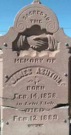 ASHTON, JAMES - Utah County, Utah | JAMES ASHTON - Utah Gravestone Photos