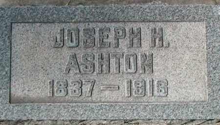 ASHTON, JOSEPH HOWARD - Utah County, Utah   JOSEPH HOWARD ASHTON - Utah Gravestone Photos