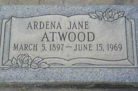 ATWOOD, ARDENA JANE - Utah County, Utah | ARDENA JANE ATWOOD - Utah Gravestone Photos