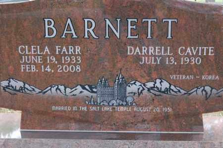 FARR BARNETT, CLELA - Utah County, Utah | CLELA FARR BARNETT - Utah Gravestone Photos