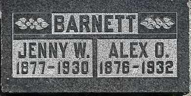 BARNETT, ALEX OWEN - Utah County, Utah | ALEX OWEN BARNETT - Utah Gravestone Photos
