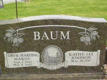 BAUM, ORVIL HARDING - Utah County, Utah | ORVIL HARDING BAUM - Utah Gravestone Photos