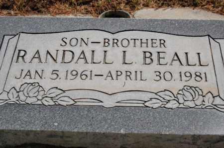 BEALL, RANDALL L. - Utah County, Utah | RANDALL L. BEALL - Utah Gravestone Photos