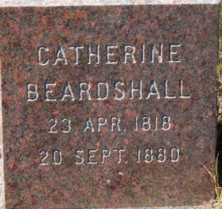 BEARDSHALL, CATHERINE - Utah County, Utah | CATHERINE BEARDSHALL - Utah Gravestone Photos