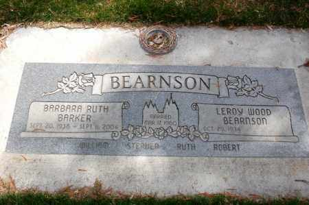 BARKER BEARNSON, BARBARA RUTH - Utah County, Utah | BARBARA RUTH BARKER BEARNSON - Utah Gravestone Photos