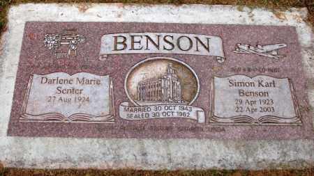 BENSON, SIMON KARL - Utah County, Utah   SIMON KARL BENSON - Utah Gravestone Photos