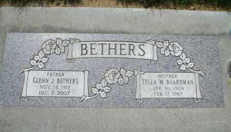 BETHERS, GLENN J. - Utah County, Utah | GLENN J. BETHERS - Utah Gravestone Photos
