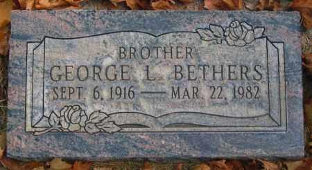 BETHERS, GEORGE LESLIE - Utah County, Utah | GEORGE LESLIE BETHERS - Utah Gravestone Photos
