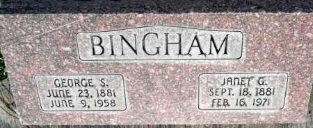 BINGHAM, GEORGE S. - Utah County, Utah | GEORGE S. BINGHAM - Utah Gravestone Photos