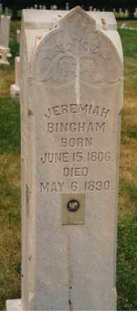BINGHAM, JEREMIAH - Utah County, Utah | JEREMIAH BINGHAM - Utah Gravestone Photos