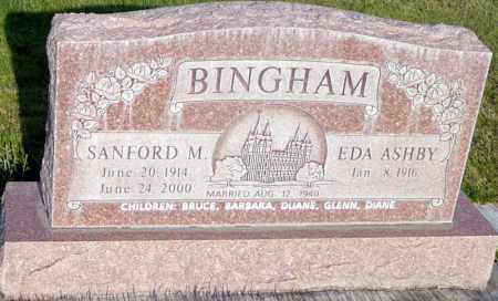 BINGHAM, EDA - Utah County, Utah | EDA BINGHAM - Utah Gravestone Photos