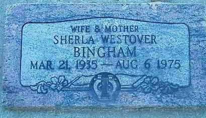 BINGHAM, SHERLA - Utah County, Utah | SHERLA BINGHAM - Utah Gravestone Photos