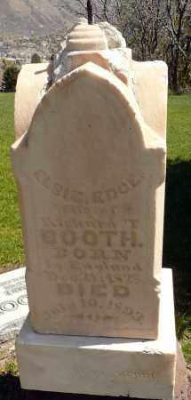 BOOTH, ELSIE - Utah County, Utah | ELSIE BOOTH - Utah Gravestone Photos
