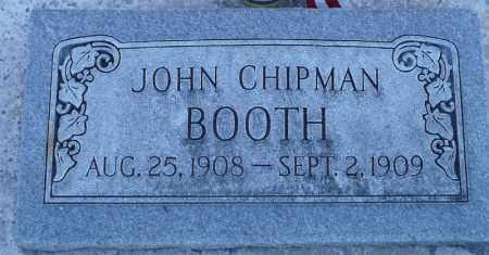 BOOTH, JOHN CHIPMAN - Utah County, Utah | JOHN CHIPMAN BOOTH - Utah Gravestone Photos