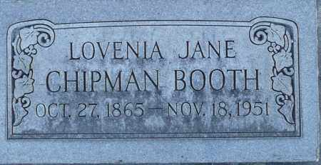 BOOTH, LOVENIA JANE - Utah County, Utah | LOVENIA JANE BOOTH - Utah Gravestone Photos