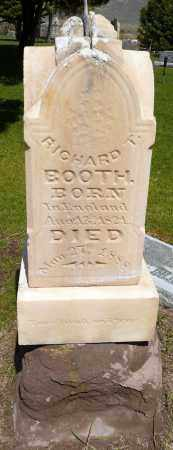 BOOTH, RICHARD THORNTON - Utah County, Utah | RICHARD THORNTON BOOTH - Utah Gravestone Photos