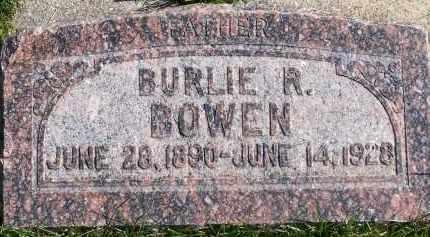 BOWEN, BURLIE RAE - Utah County, Utah   BURLIE RAE BOWEN - Utah Gravestone Photos