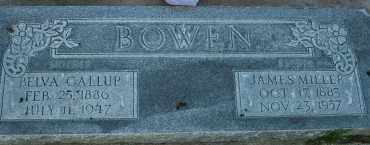 BOWEN, JAMES MILLER - Utah County, Utah | JAMES MILLER BOWEN - Utah Gravestone Photos
