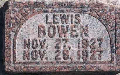 BOWEN, LEWIS - Utah County, Utah | LEWIS BOWEN - Utah Gravestone Photos
