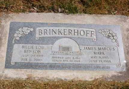 BRINKERHOFF, BILLIE LOU - Utah County, Utah | BILLIE LOU BRINKERHOFF - Utah Gravestone Photos