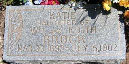 BROCK, KATIE - Utah County, Utah | KATIE BROCK - Utah Gravestone Photos