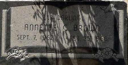 BROWN, ANNETTE C. - Utah County, Utah   ANNETTE C. BROWN - Utah Gravestone Photos