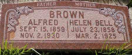 BROWN, ALFRED - Utah County, Utah   ALFRED BROWN - Utah Gravestone Photos