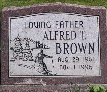 BROWN, ALFRED THOMAS (AL) - Utah County, Utah | ALFRED THOMAS (AL) BROWN - Utah Gravestone Photos