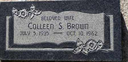 BROWN, COLLEEN S. - Utah County, Utah | COLLEEN S. BROWN - Utah Gravestone Photos