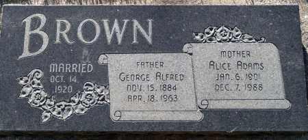 BROWN, ALICE - Utah County, Utah | ALICE BROWN - Utah Gravestone Photos