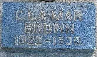 BROWN, GERALD LAMAR - Utah County, Utah | GERALD LAMAR BROWN - Utah Gravestone Photos